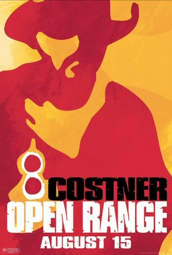 Open Range Poster