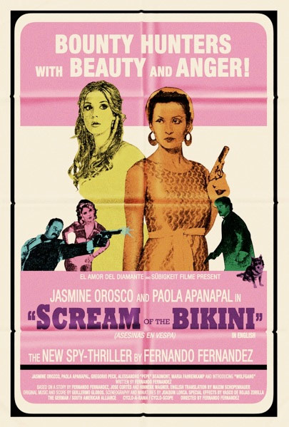 Scream of the Bikini Poster #2