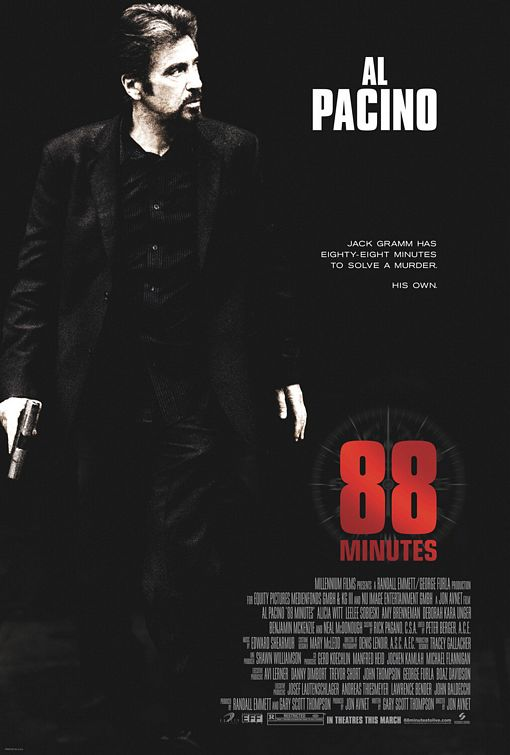 88 Minutes Poster #1
