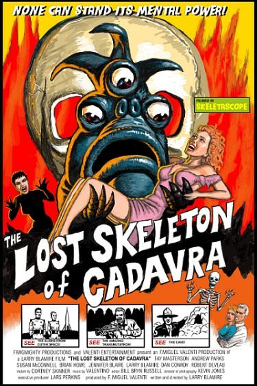 The Lost Skeleton of Cadavra Poster