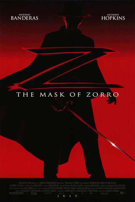 The Mask of Zorro Poster #1