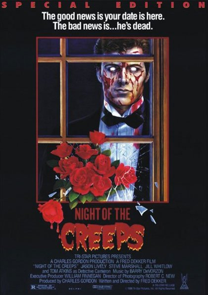 Night of the Creeps Poster #2