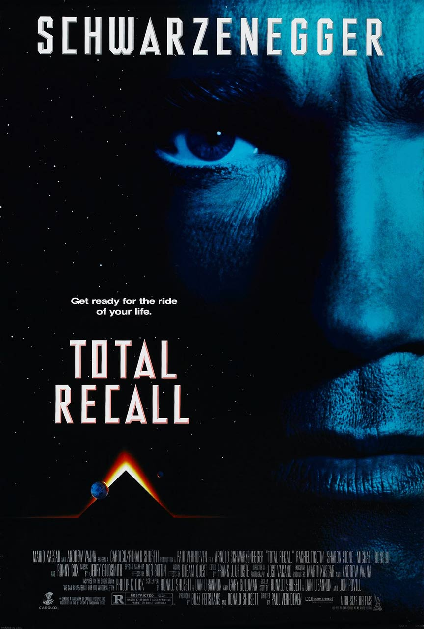 Total Recall Poster #1