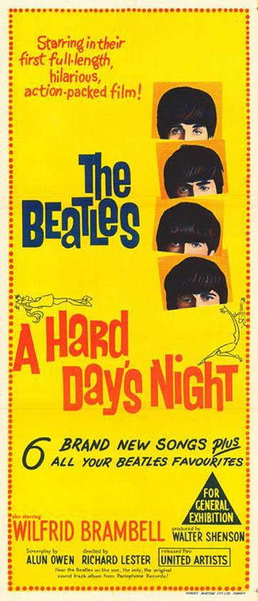 A Hard Day's Night Poster #2