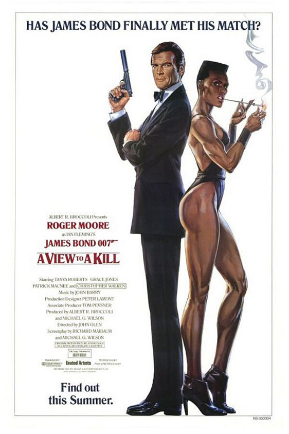 A View to a Kill Poster #3