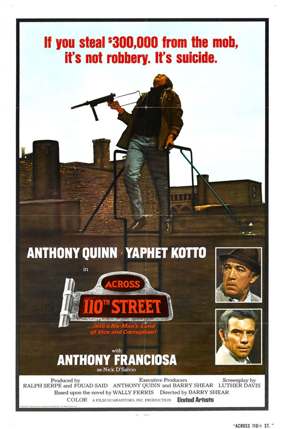 Across 110th Street Poster #2