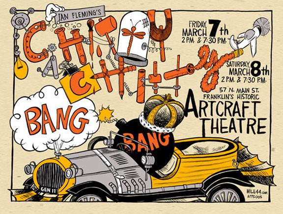 Chitty Chitty Bang Bang Poster #2