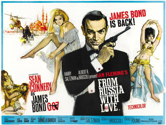 From Russia with Love Poster #1