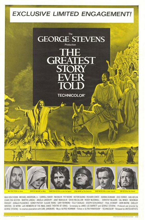 The Greatest Story Ever Told Poster #1