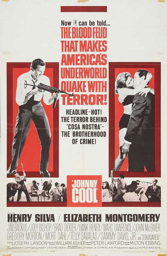 Johnny Cool Poster
