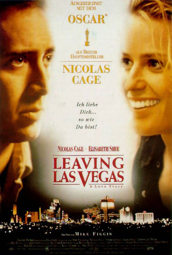 Leaving Las Vegas Poster #4