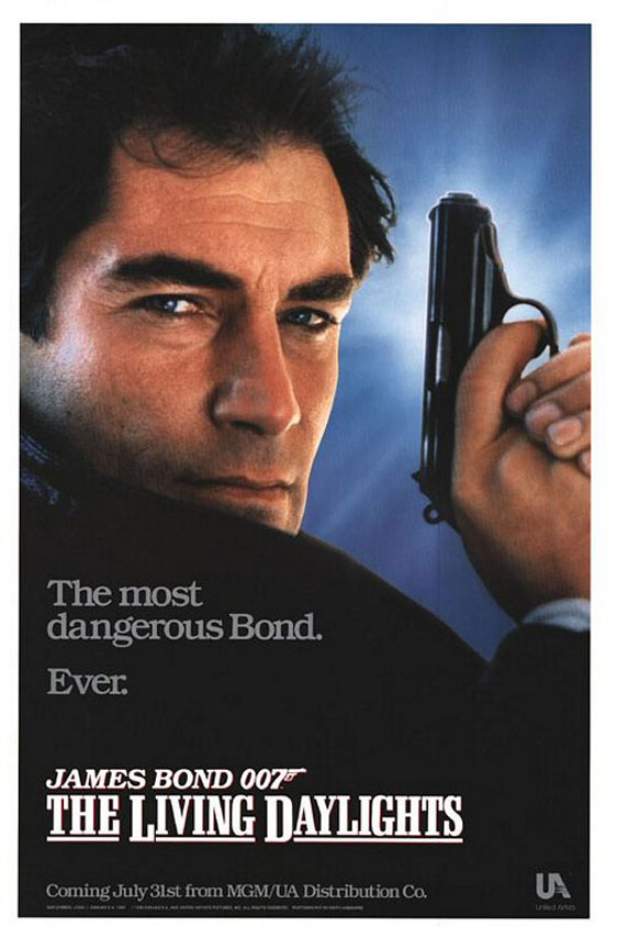 The Living Daylights Poster #2
