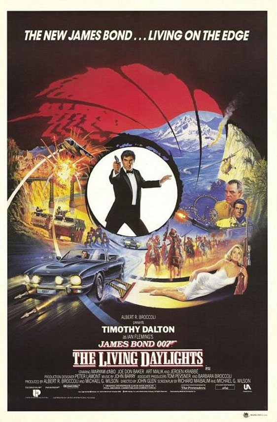 The Living Daylights Poster #3
