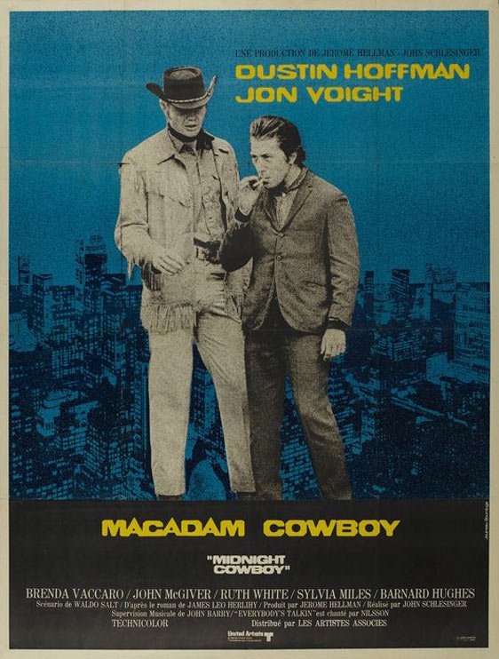 Midnight Cowboy Poster #2