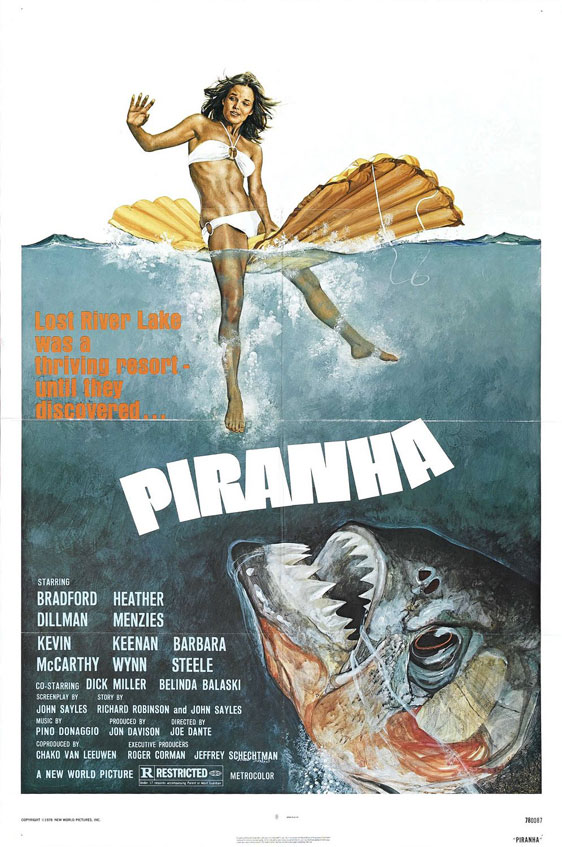 Piranha Poster