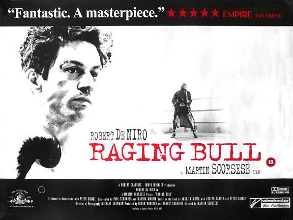 Raging Bull Poster #2