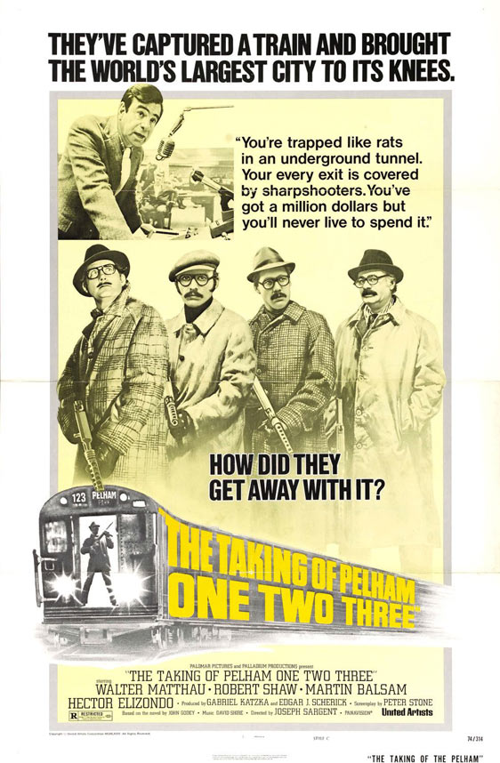 The Taking of Pelham One Two Three Poster #3