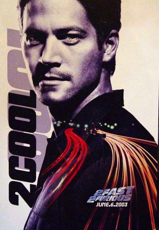 2 Fast 2 Furious Poster #1