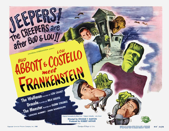 Bud Abbott Lou Costello Meet Frankenstein Poster #3