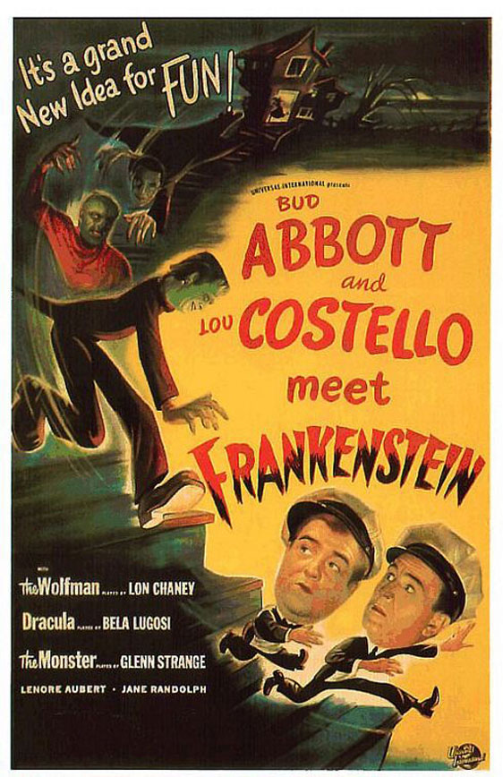 Bud Abbott Lou Costello Meet Frankenstein Poster #1