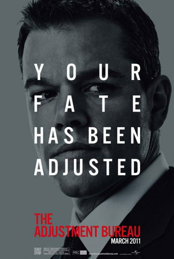 The Adjustment Bureau Poster #5
