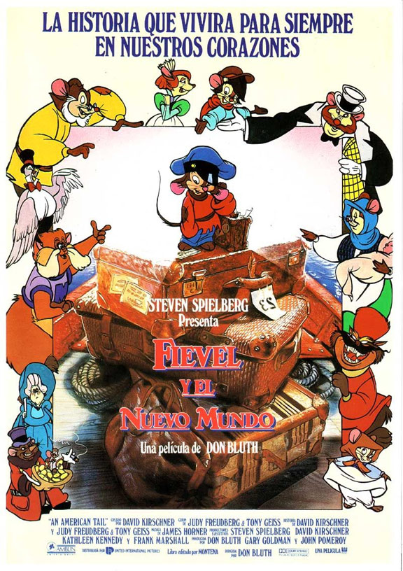 An American Tail Poster #2