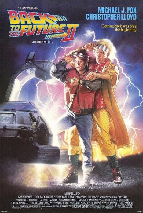 Back to the Future Part II Poster #1