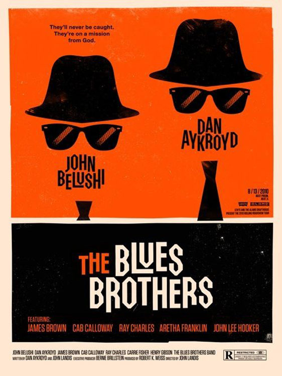 The Blues Brothers Poster #2