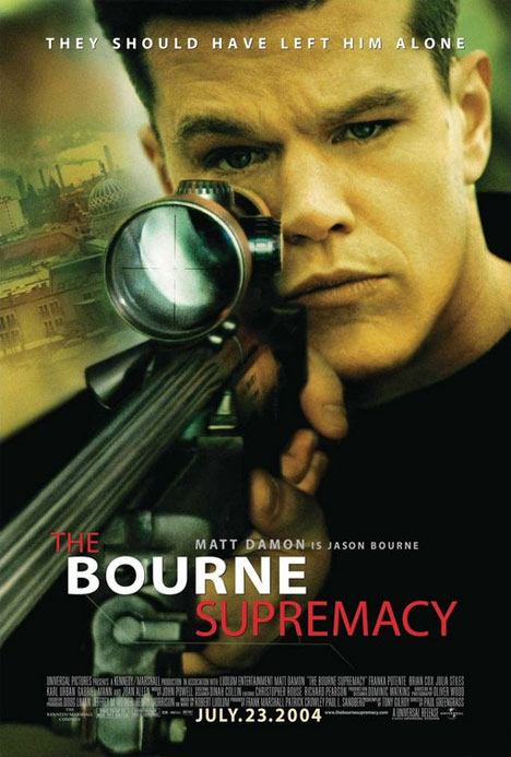 The Bourne Supremacy Poster #1