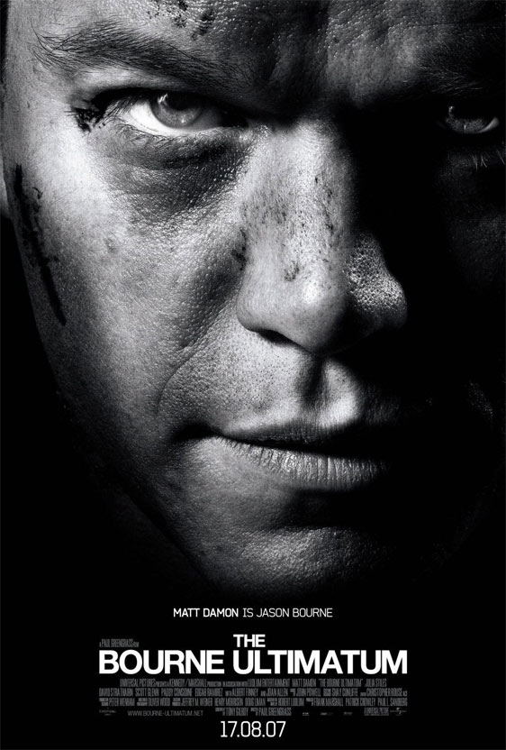 The Bourne Ultimatum Poster #3