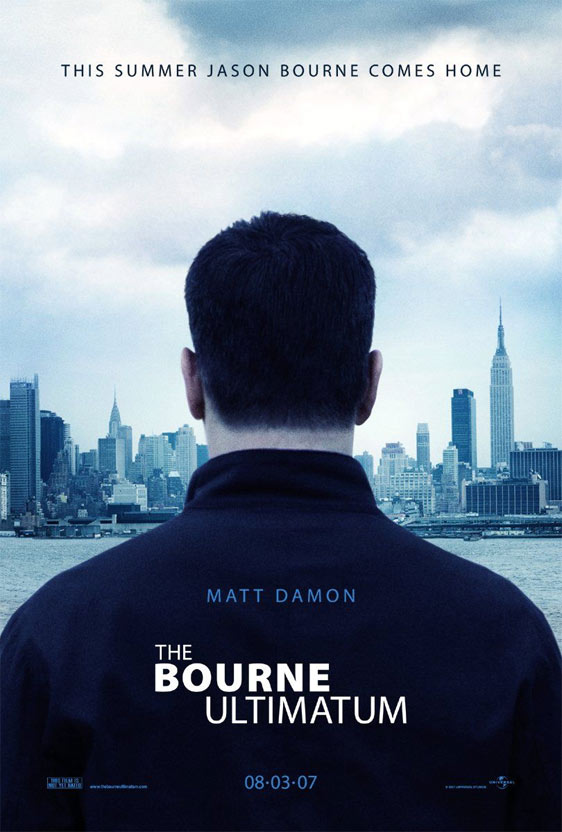 The Bourne Ultimatum Poster #4