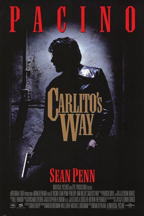 Carlito's Way Poster #1