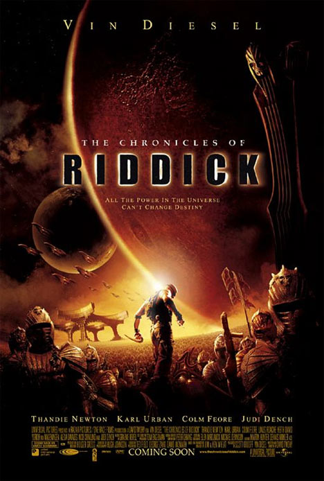 The Chronicles of Riddick Poster #1