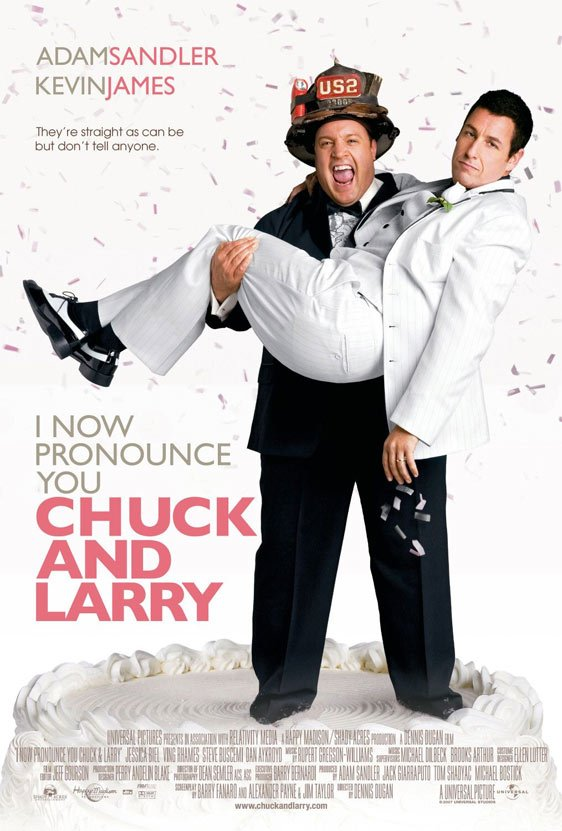 I Now Pronounce You Chuck and Larry Poster #2