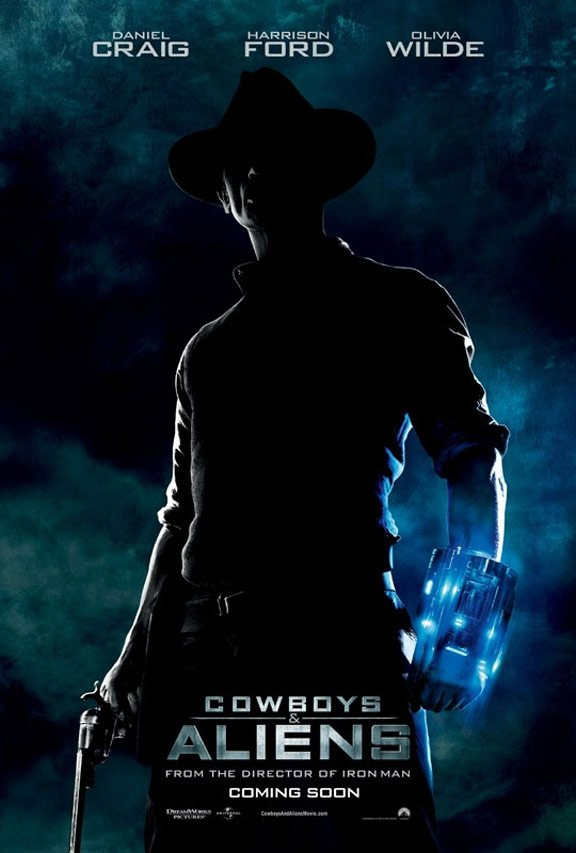 Cowboys & Aliens Poster #2