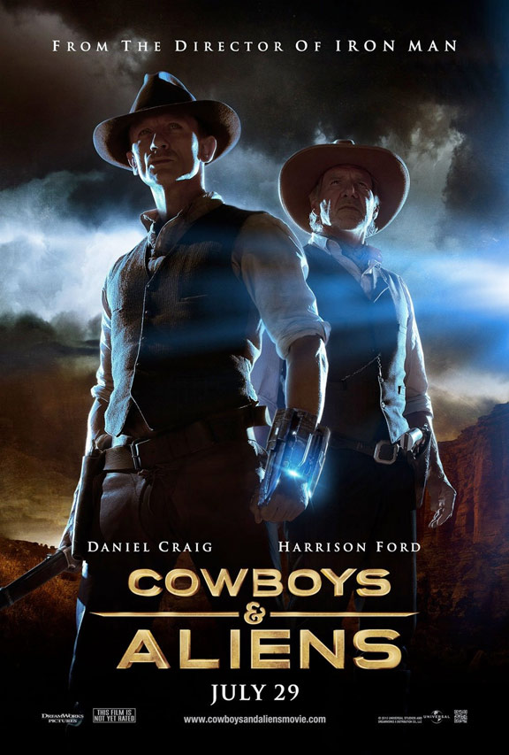 Cowboys & Aliens Poster #4