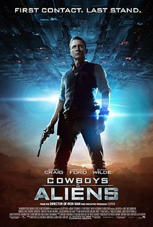 Cowboys & Aliens Poster #5