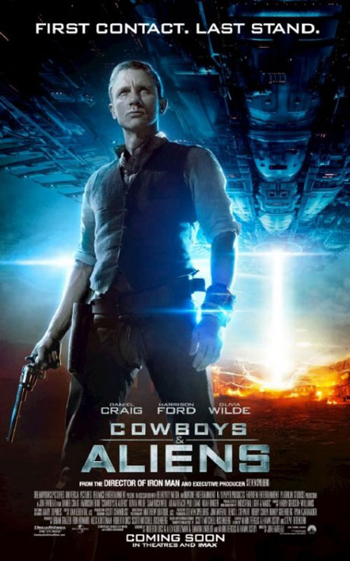 Cowboys & Aliens Poster #7