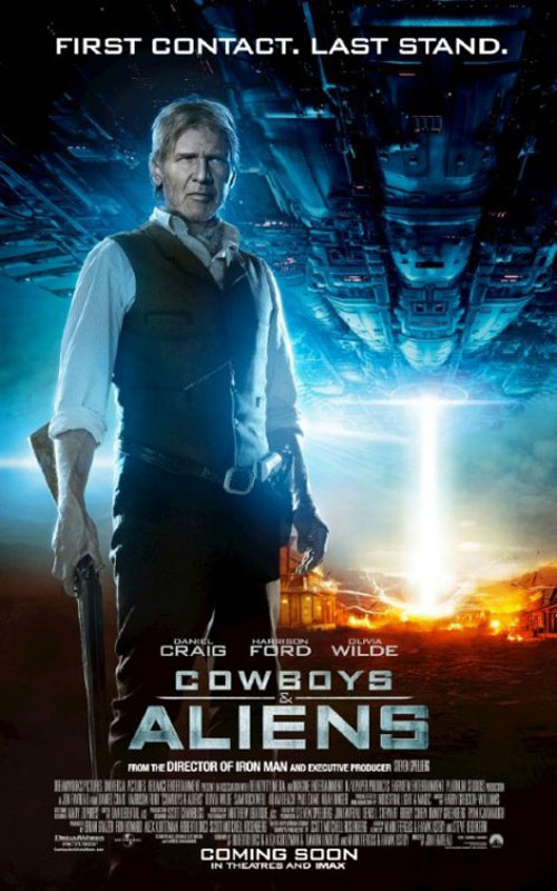 Cowboys & Aliens Poster #8