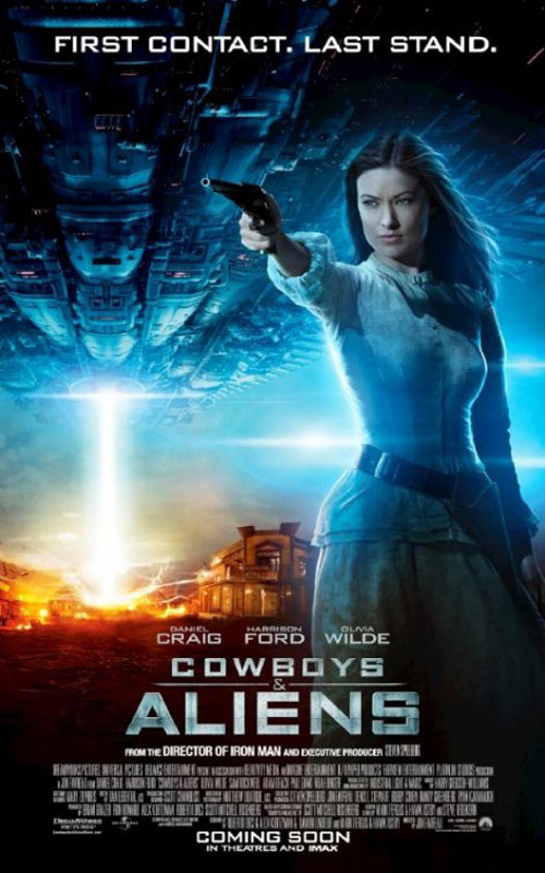 Cowboys & Aliens Poster #9