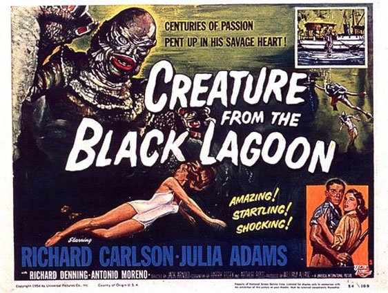Creature from the Black Lagoon Poster #2