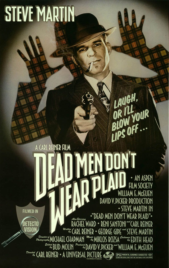 Dead Men Don't Wear Plaid Poster