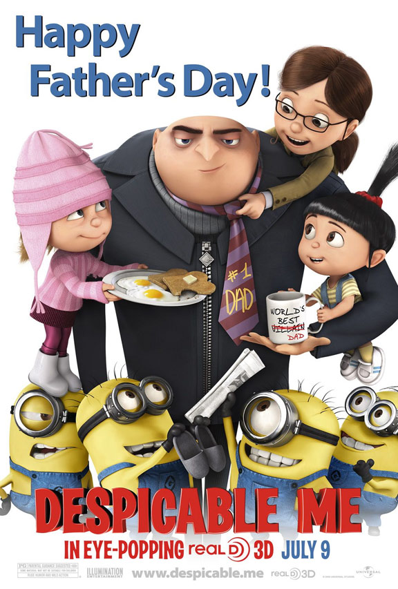 Despicable Me Poster #8
