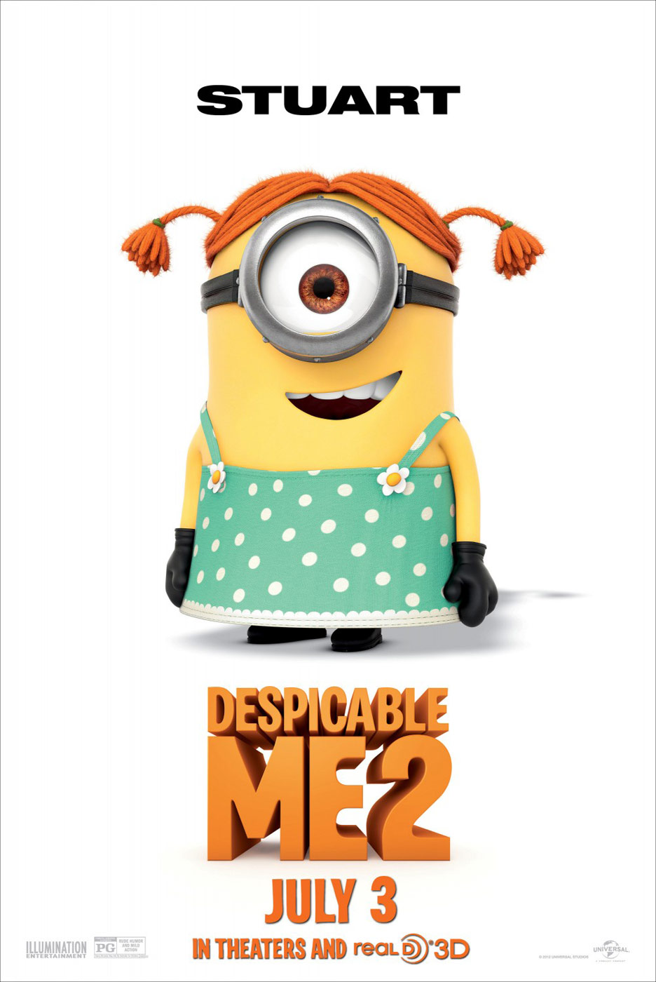 Despicable Me 2 Poster #12