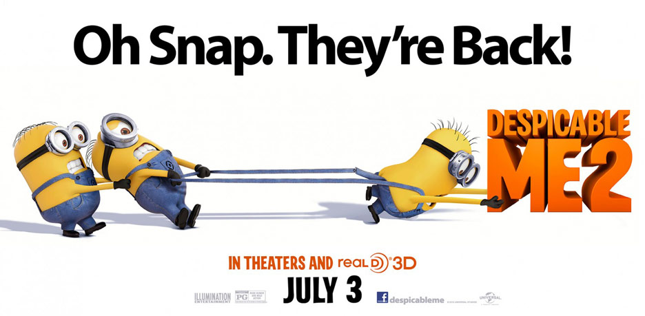 Despicable Me 2 Poster #15