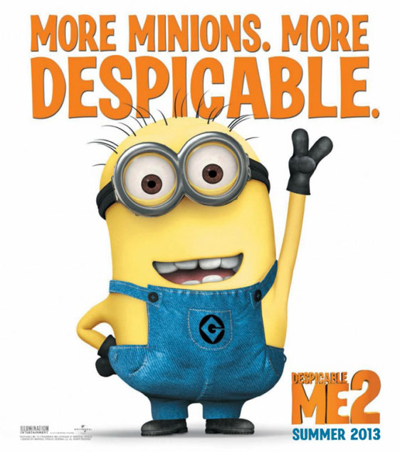 Despicable Me 2 Poster #2