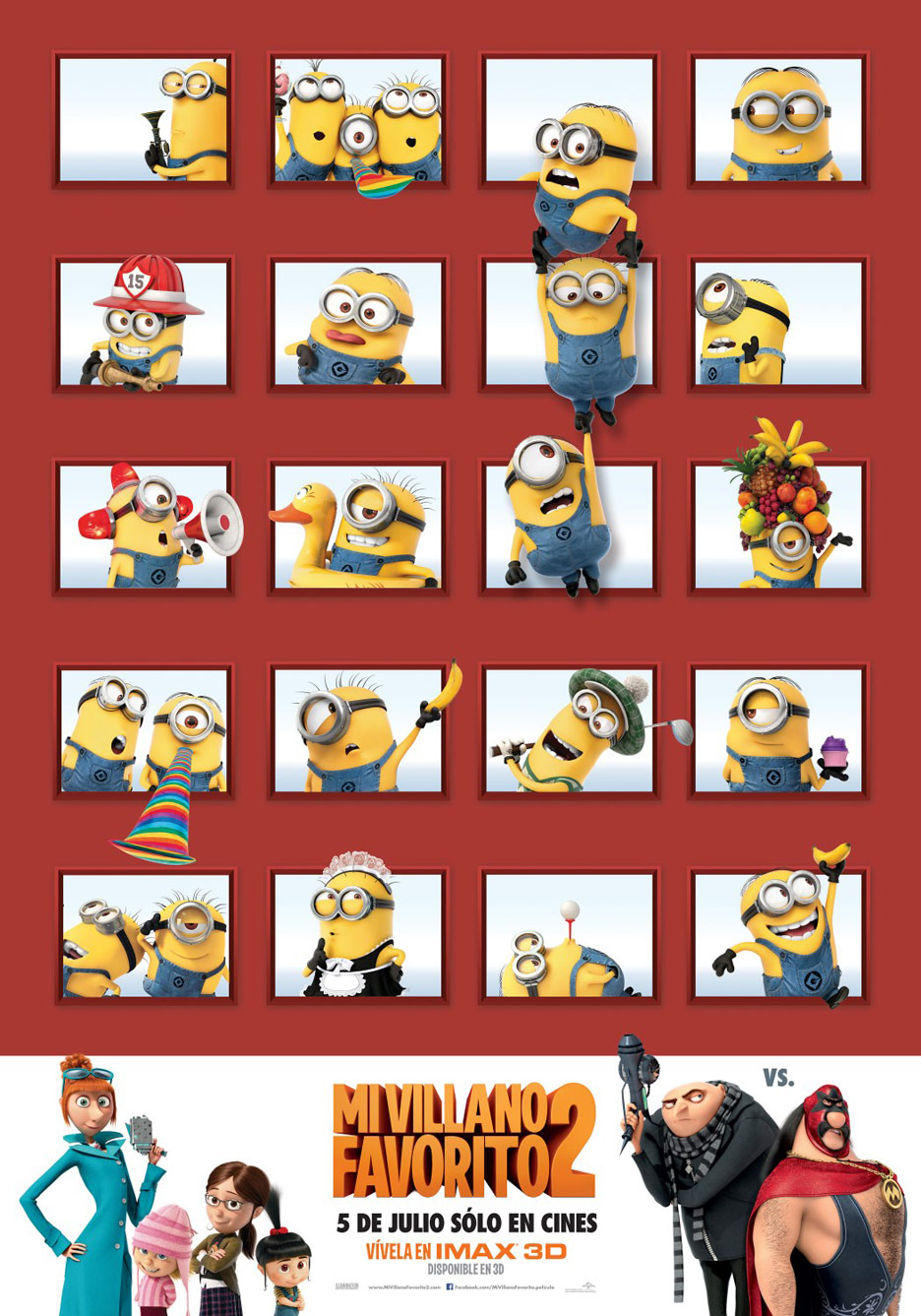 Despicable Me 2 Poster #26