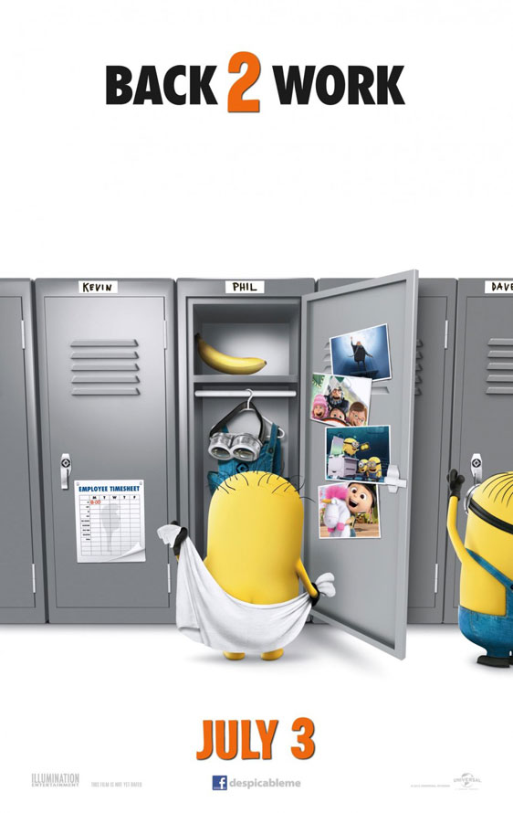 Despicable Me 2 Poster #3