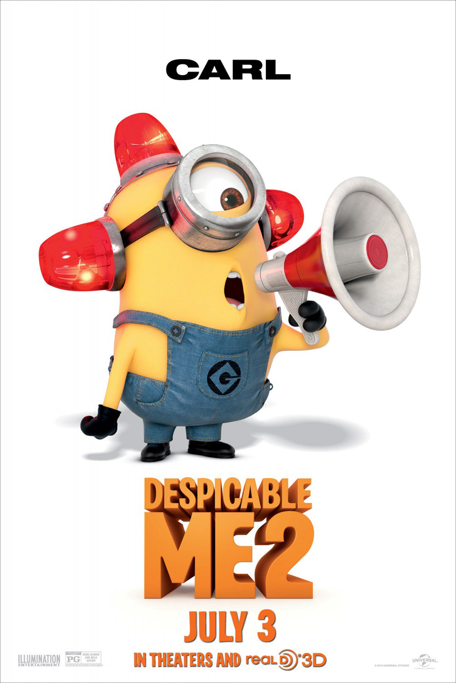 Despicable Me 2 Poster #9