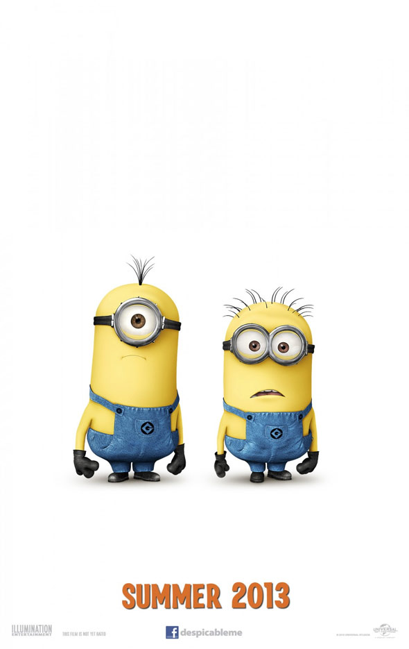 Despicable Me 2 Poster #1